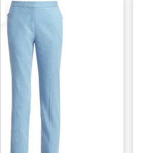 Rag & Bone Light Blue Linen Pants